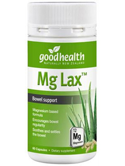 Good Health NZ Mg lax™ - 60 capsules