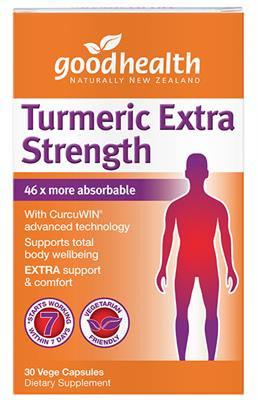 Good Health NZ Turmeric Extra Strength - 30 capsules