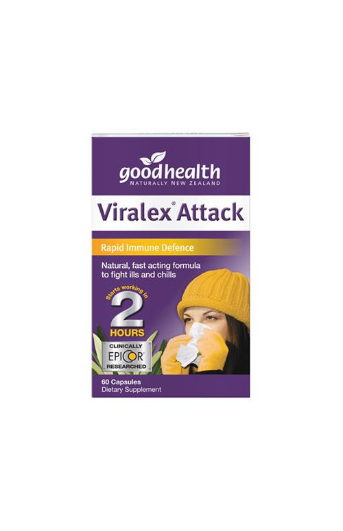 Good Health NZ Viralex® attack - 60 capsules