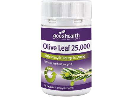 Good Health - Olive Leaf 25 000 30  caps