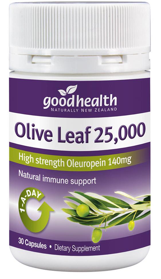 Good Health - Olive Leaf 25 000 30  caps