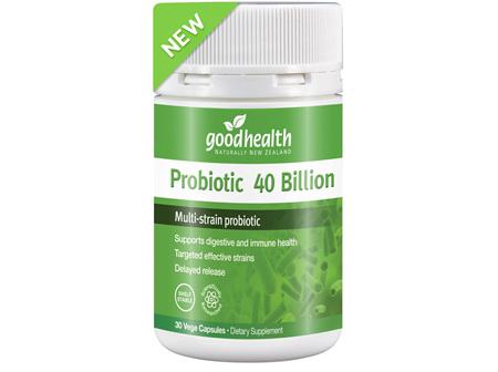 Good Health Probiotic 40 Billion 30 Capsules