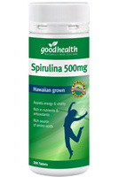 Good Health Spirulina Tablets 500mg