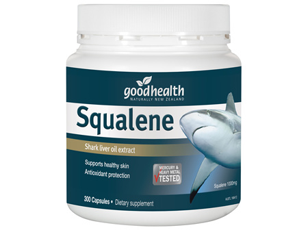 Good Health - Squalene Shark Oil - 300 Capsules