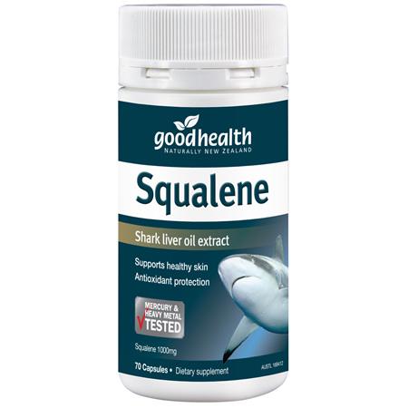 Good Health - Squalene Shark Oil - 70 Capsules