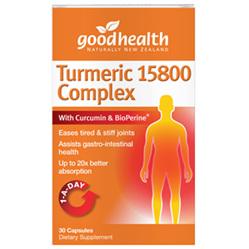 Good Health Tumeric Complex