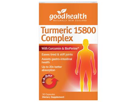 Good Health - Turmeric 15800 Complex - 30 Capsules