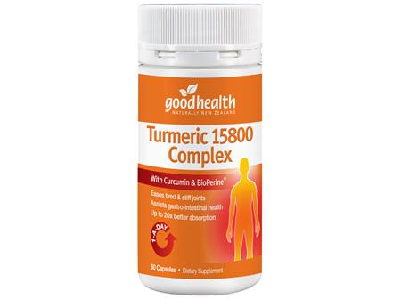 Good Health - Turmeric 15800 Complex - 60 Capsules