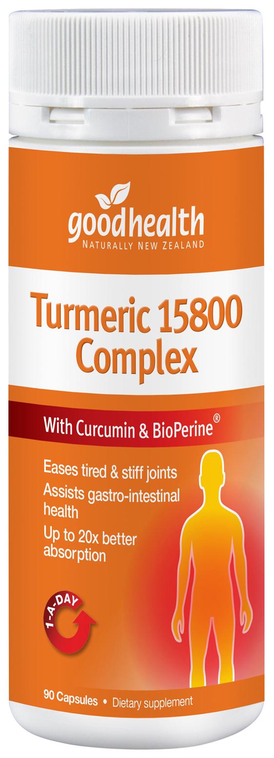 Good Health - Turmeric 15800 Complex - 90 Capsules