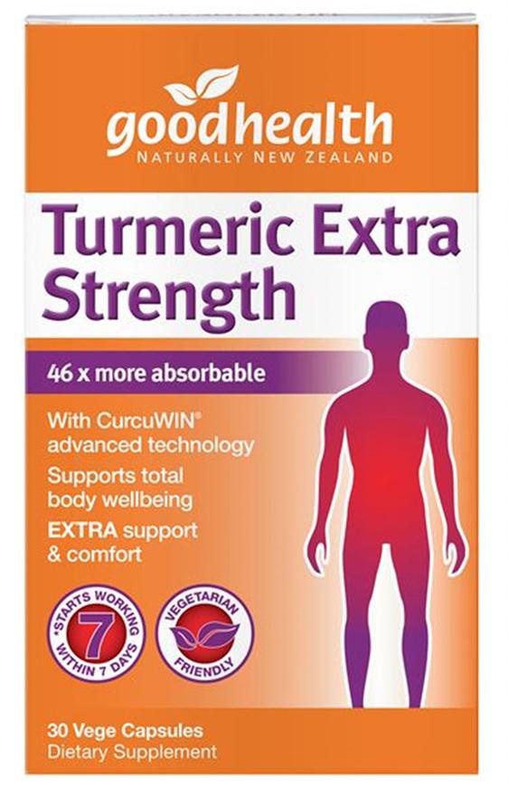 Good Health - Turmeric Extra Strength - 30 Capsules