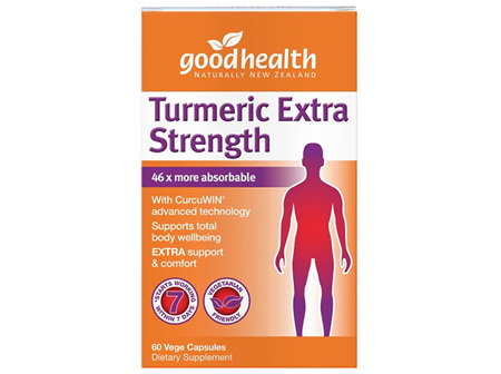 Good Health - Turmeric Extra Strength - 60 Capsules