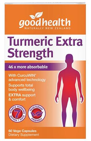 Good Health - Turmeric Extra Strength - 60 Capsules