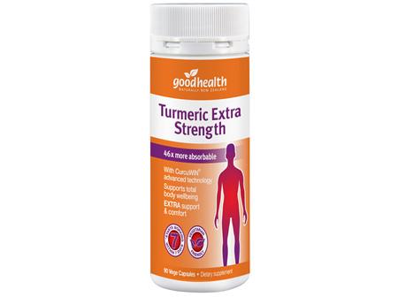 Good Health - Turmeric Extra Strength - 90 Capsules