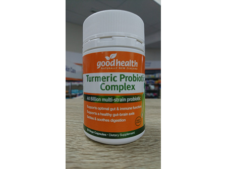 Good Health Turmeric Probiotic Complex 30's