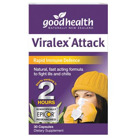 Good Health - Viralex Attack - 30 Capsules