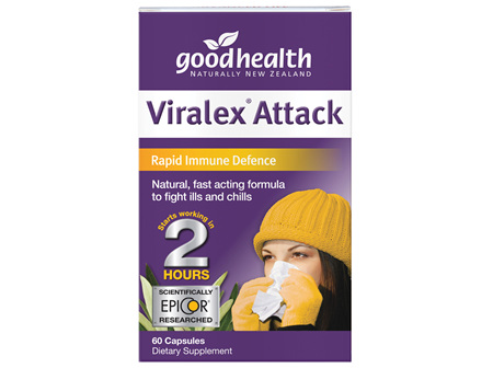 Good Health - Viralex attack 60 Capsules