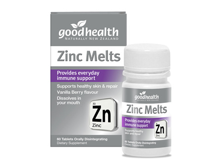 Good Health - Zinc Melts - 60 Tablets