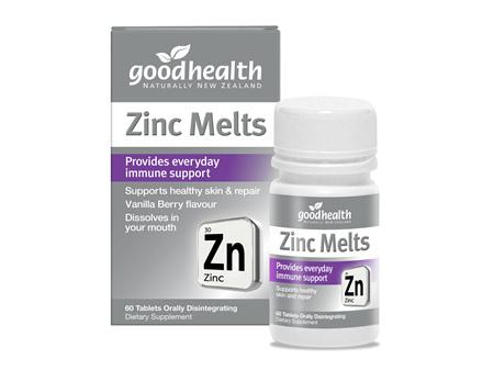 Good Health - Zinc Melts - 60 Tablets