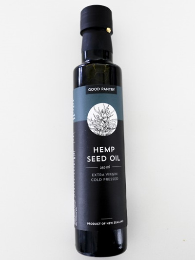 Good Pantry Hemp Seed Oil (Extra Virgin Cold Pressed) 250ml