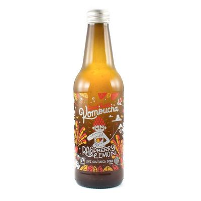 Goodbuzz Kombucha Raspberry Lemon 328ml