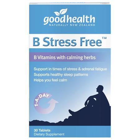 GOODHEALTH B Stress Free 30tabs
