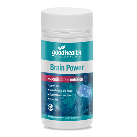 GOODHEALTH Brain Power 60vCaps