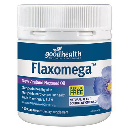 GOODHEALTH Flaxomega 150caps