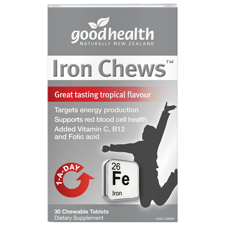GOODHEALTH Iron Chews 30tabs
