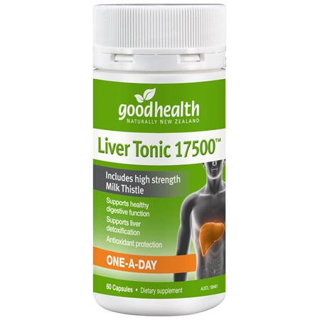 GOODHEALTH Liver Tonic 17500mg 60caps
