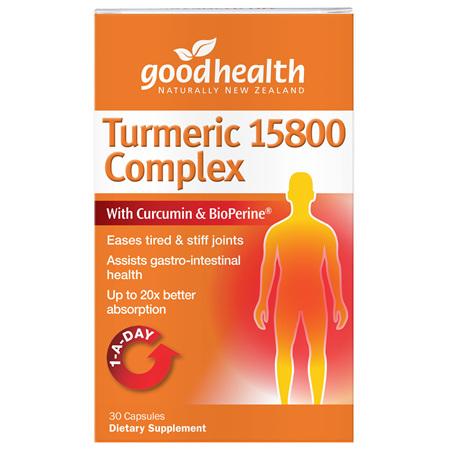 GOODHEALTH Turmeric 15800 Complex 30caps