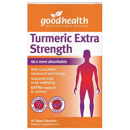 GOODHEALTH Turmeric Extra Strength 60caps