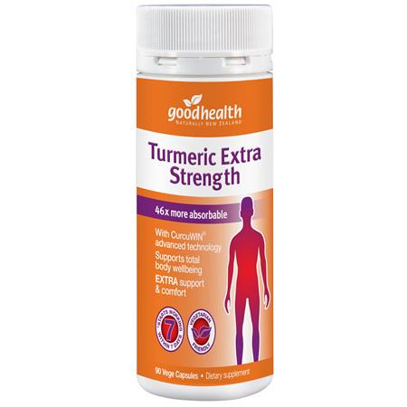 GOODHEALTH Turmeric Extra Strength 90cap