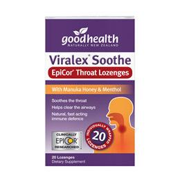 GOODHEALTH VIRALEX SOOTHE LOZENGES 20'S
