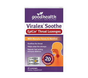 GOODHEALTH VIRALEX SOOTHE LOZENGES 20'S