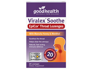 Goodhealth Viralex Soothe Throat Lozenges (20 loz)