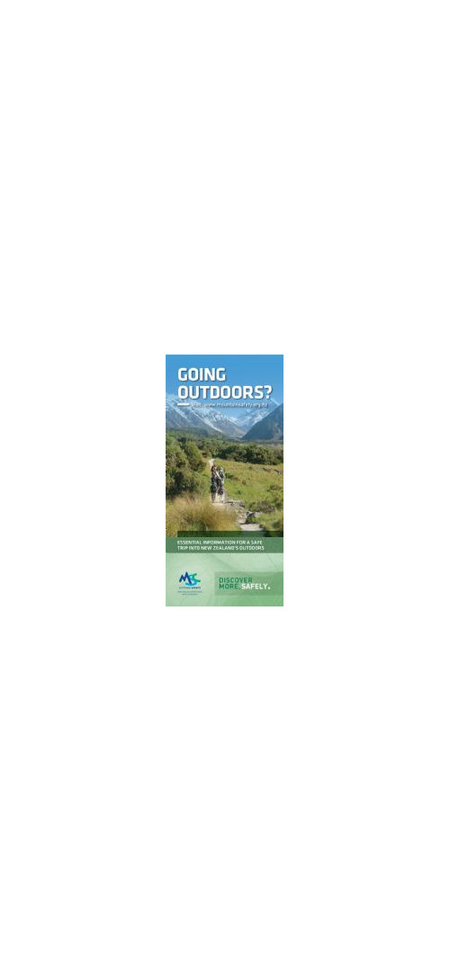 GOP - Going Outdoors? Pamphlet