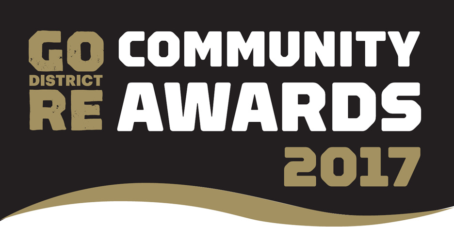 Gore District Community Awards Ticket