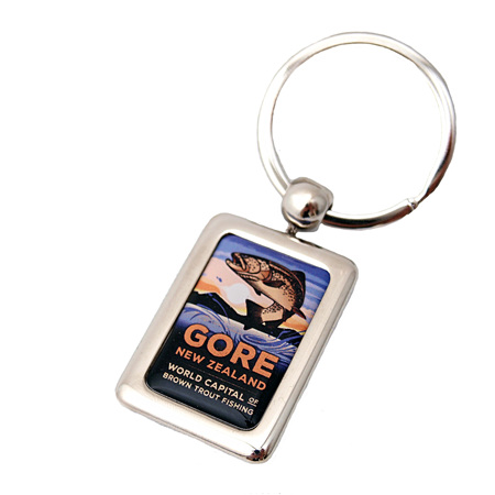 Gore NZ Fishing Keyring