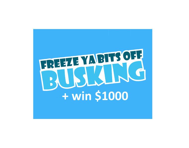 Gore NZ Freeze Ya Bits Off Busking Payment