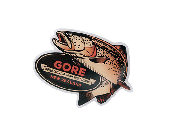 Gore NZ Trout Badge
