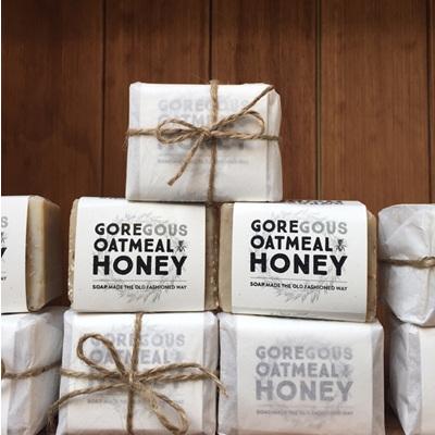 Goregous Oatmeal Honey Soap