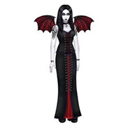 Goth Beauty Jointed Cutout - 6ft