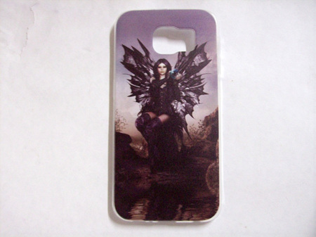 Gothic Angel Cell Phone Cover For Samsung Galaxy S6