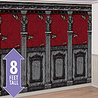 Gothic Mansion room roll