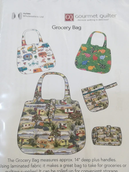 Gourmet Quilter Grocery Bag