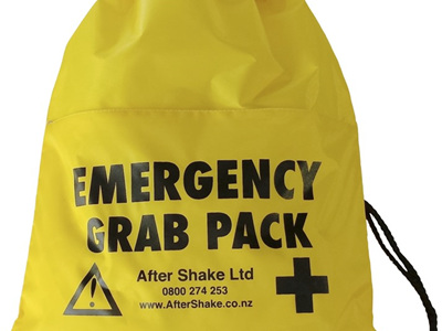 Grab 'n' Carry Emergency Survival Packs