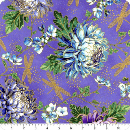 Graceful Garden Hydrangea Wisteria/Gold S7730-229G