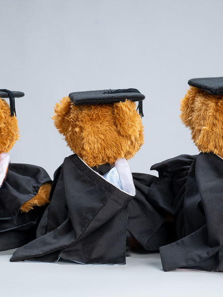 Graduation Bear Hood (Hood Only)