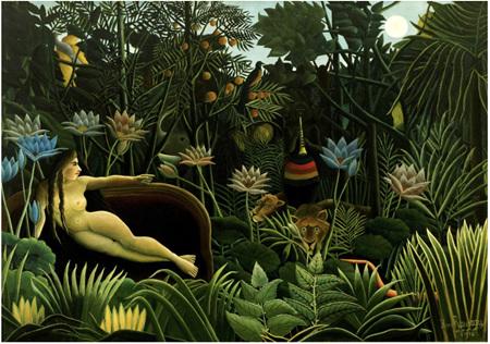 Grafika 1000 Piece Jigsaw Puzzle: Henri Rousseau - The Dream, 1910