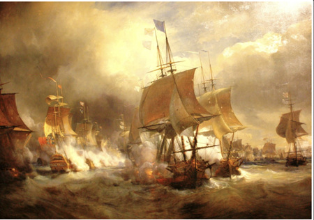 Grafika 1000 Piece Jigsaw Puzzle: Sea Battle